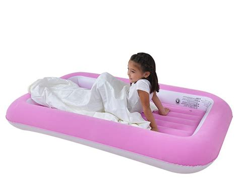 portable children inflatable folding air bed  flocking