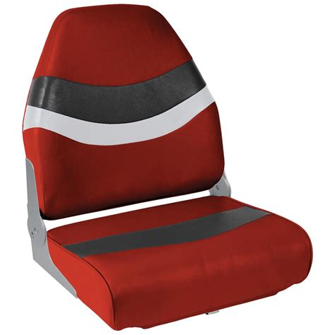 red fishing boat seats wise hi backfolding fishing boat seat 627817 fold down