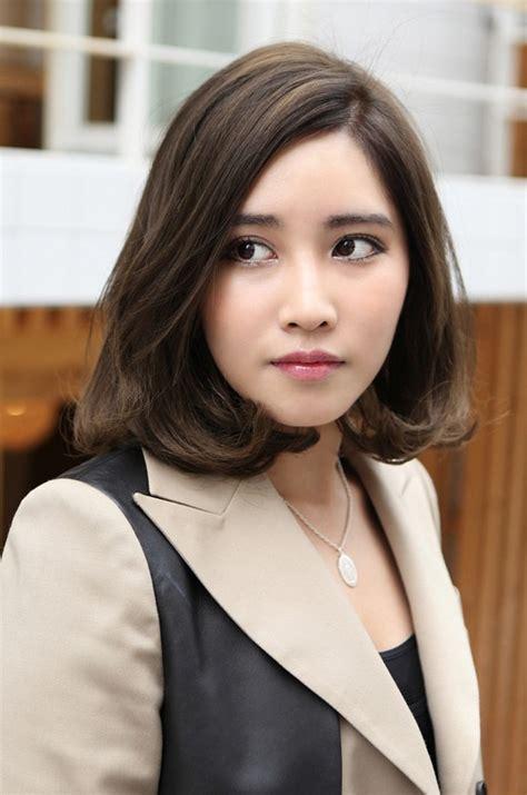 medium haircuts korean best haircut for office medium hairstyle