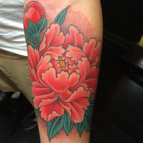 peonies tattoo 43 japanese peony tattoos collection