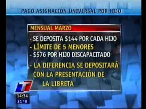 asignacin universal por hijo calendario de pagos noviembre 2012 cronogramas de pago anses doovi