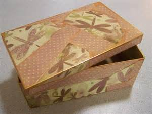 Decoupage Boxes - decoupage sewing boxes finished tropical threads