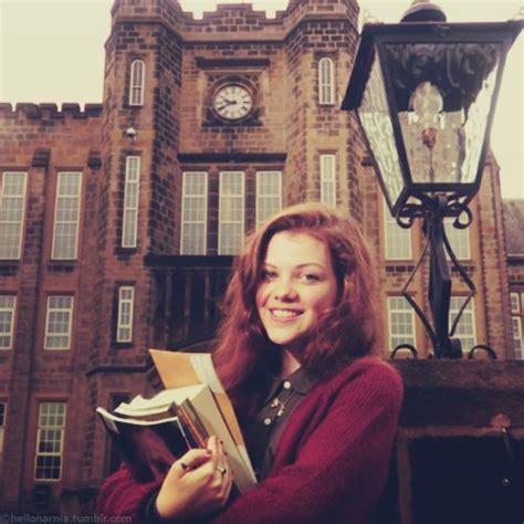 film education narnia narnia georgie henley vintage style england