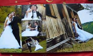 Wedding Album Arrangement by Personalized Wedding Albums All About Wedding