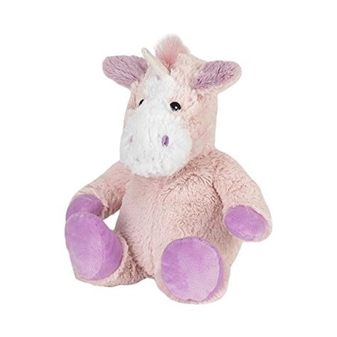 warmies pug warmies cozy plush pink unicorn fully microwavable at shop ireland