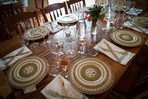 table setting family style family style table service picture of orchard kitchen