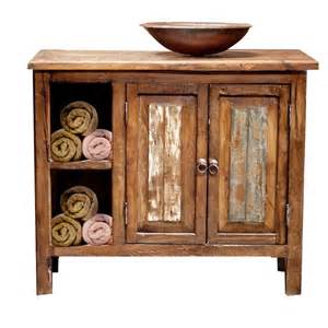 rustic bathroom storage reclaimed wood bathroom vanity