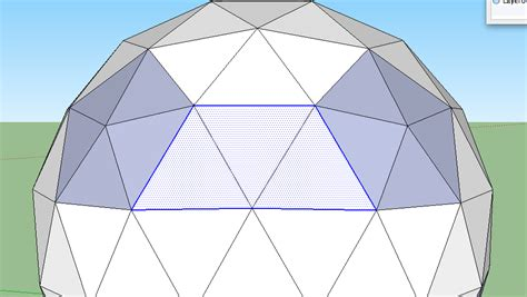 How To Make A Dome Shape Out Of Paper - frameless geodesic dome