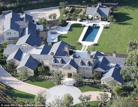 kim kanye house kim kardashian and kanye west drop 20m on california mansion daily mail online