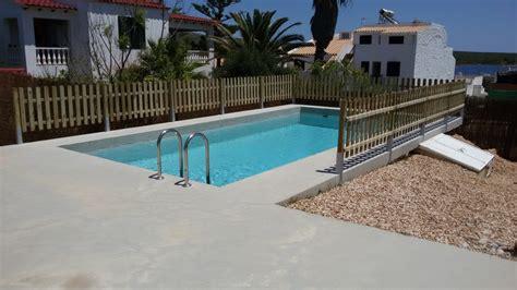 barandilla piscina aluminio barandilla pino cuperizado para piscina carpinteria toyo