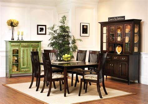 shaker dining room set english shaker dining room amish furniture designed