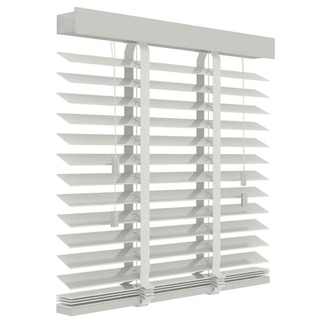 jaloezie wit houten jaloezie 50mm wit 80cm x 220cm gordijnen nl