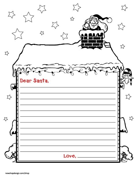 Free Santa Letter Envelope Printable Best Friends For Frosting Free Letter To Santa Template