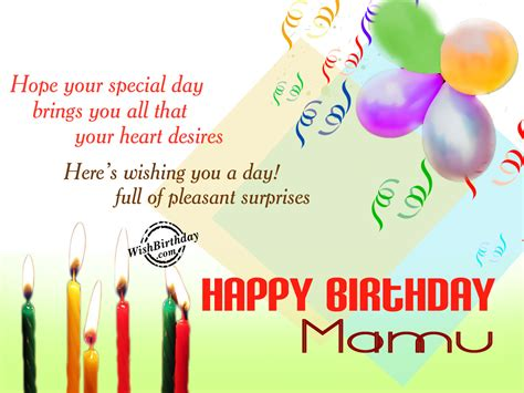 Wishing You Happy Birthday Birthday Wishes For Mama Ji Birthday Images Pictures