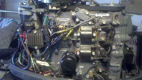 mercury outboard motor overheating yamaha f60 overheats at idle the hull truth boating