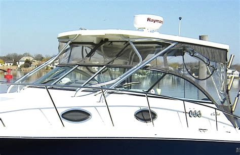 wellcraft boat windows hard top aft drop curtain factory oem for wellcraft