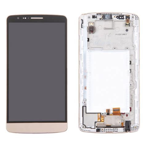 Lcd Lg G3 lcd screen touch screen digitizer assembly with frame