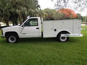 Chevrolet Utility Trucks 2000 Chevrolet 3500 2500 Utility Truck