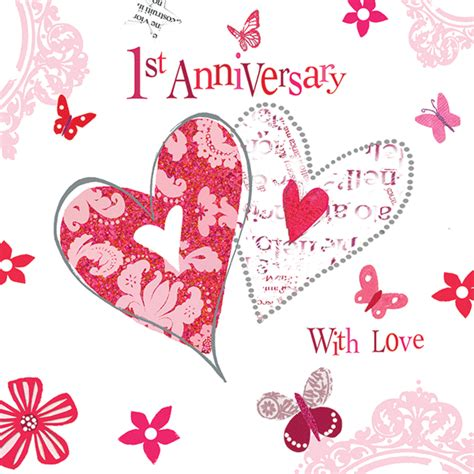 1st 25th Happy Anniversary Wishes by Happy 1st Anniversary My Www Pixshark Images