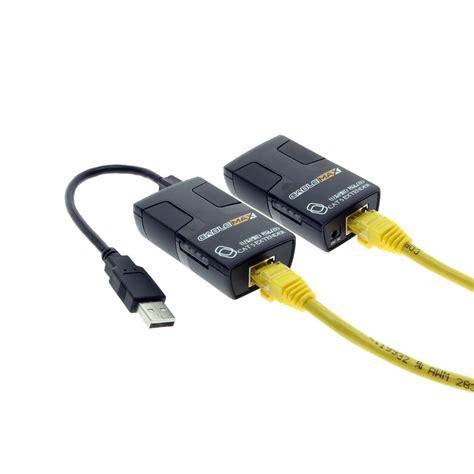 Usb Extender 5 Meter usb 2 0 extender kit 230ft for cat5 network cable