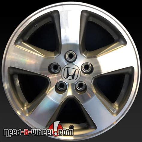 Honda Oem Wheels by 17 Quot Honda Pilot Wheels Oem 2009 2011 Machined Stock Rims 63992