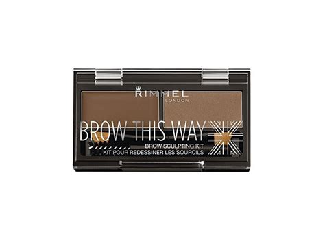 Sculpting Kit 04 rimmel brow this way sculpting kit medium brown powder 0
