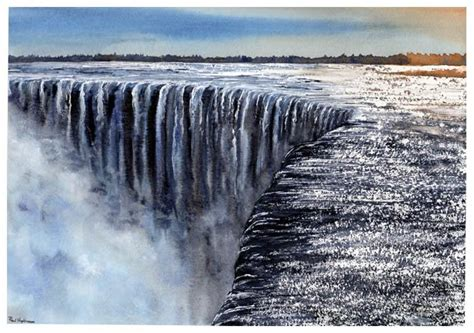 watercolor tattoo niagara niagara falls from a tutorial by joe francis dowden
