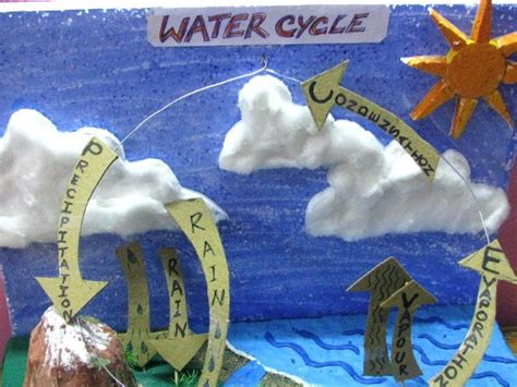 water cycle craft works projects amp nature study