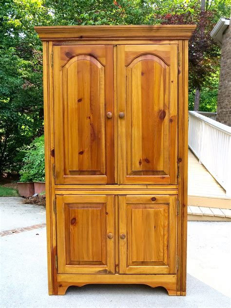 chalk paint armoire chalk painted armoire makeover 2 bees in a pod