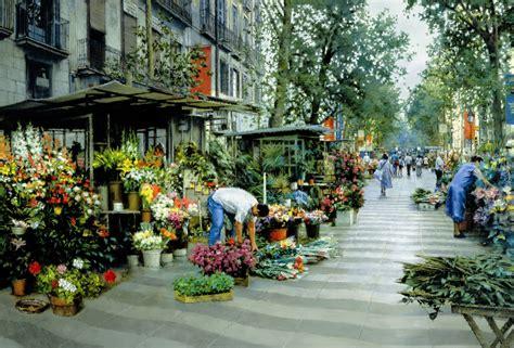 mercato dei fiori barcellona las ramblas barcelona educa 5000 puzzle
