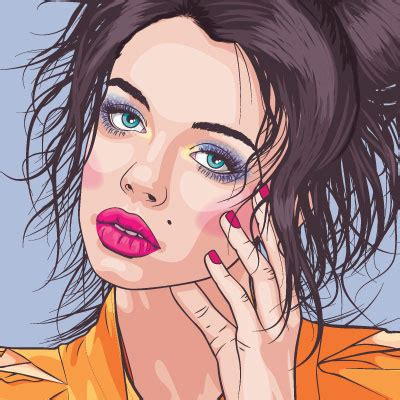 tutorial vector portrait using adobe illustrator mastering vector portraits envato tuts design