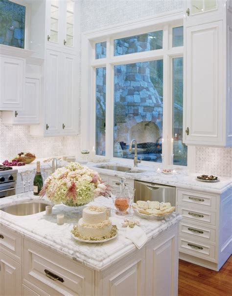 White Marble Kitchen Countertops by Marble Kitchen Countertops New York Los Angeles