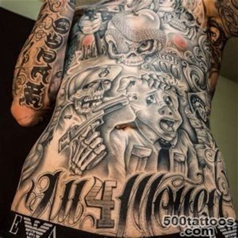 gangster tattoos designs ideas meanings images