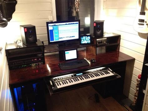 home music studio desk infamous musician 20 home recording studio setup ideas
