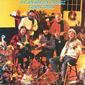 Canadian Brass Piringan Hitam Vinyl the canadian brass a canadian brass vinyl lp at discogs
