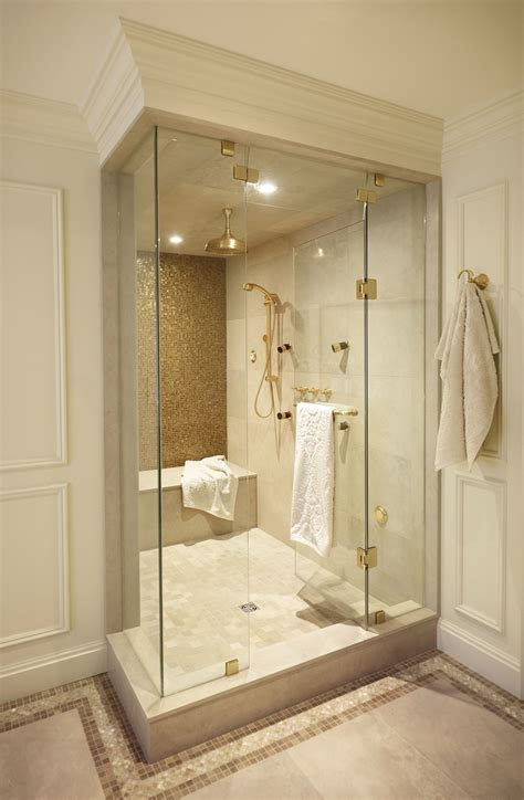 bathroom showers designs interior design project couple s retreat regina