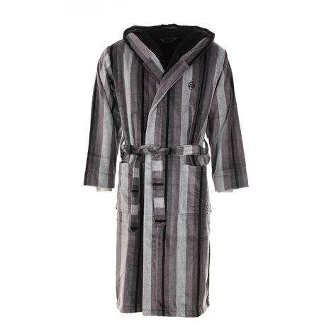 robe de chambre homme lacoste peignoir 233 ponge mariner 233 gris 224 capuche ext 233 rieur en