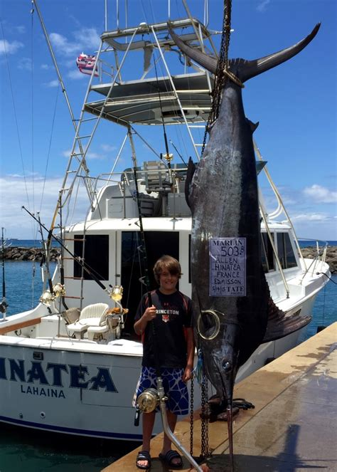 deep sea sport fishing boats hinatea sportfishing deep sea maui sport fishing charters