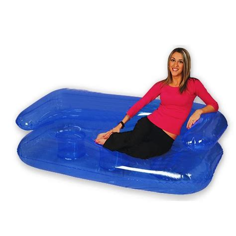 blow up sofa bed blow up inflatable furniture full sized 6 inflatable