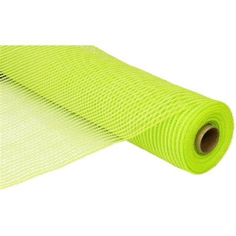 Poly Apple 21 quot poly deco mesh vertical line apple green re104356