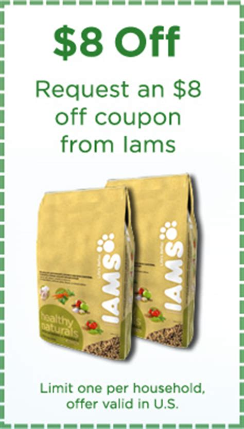 iams dog food coupons free printable iams coupons printable canada