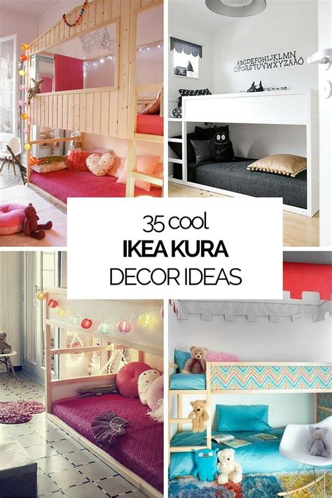 ikea bedroom hacks 35 cool ikea kura beds ideas for your kids rooms