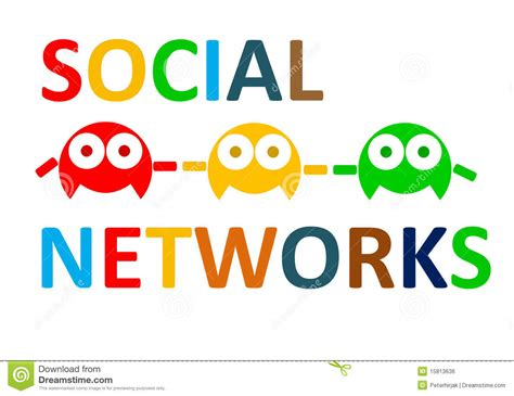 Email Social Network Search Social Networks Connect Royalty Free Stock Image