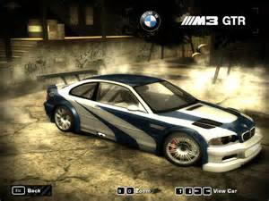 bmw m3 gtr most wanted image 48
