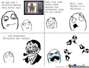Dad And Son Meme - trolling dad troll his son about barney by kazu stovia