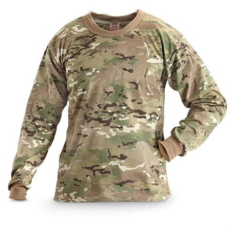 Tactical Tshirt Multicam by Fox Tactical 174 Surplus Sleeved T Shirt