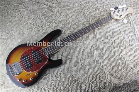 Gitar Bass Musicman String 73 free shipping quality stingray 5 strings electric bass sunburst musicman electric