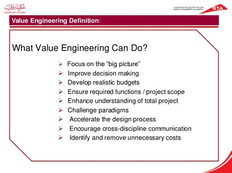 design engineer meaning value engineering for roads highways project