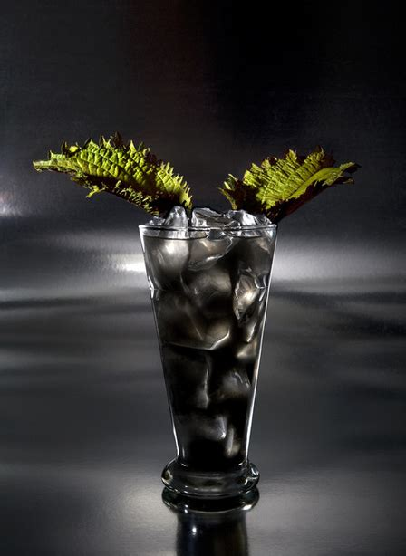 black cocktail black cocktails