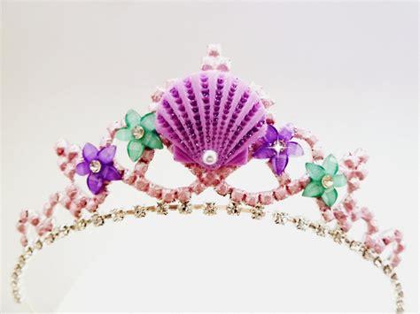 free printable mermaid crown mermaid crown mermaid sea shell flower tiara mermaid